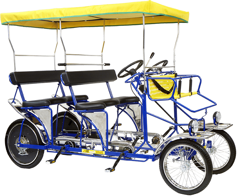 Double Surrey Bike Rental Van Nuys